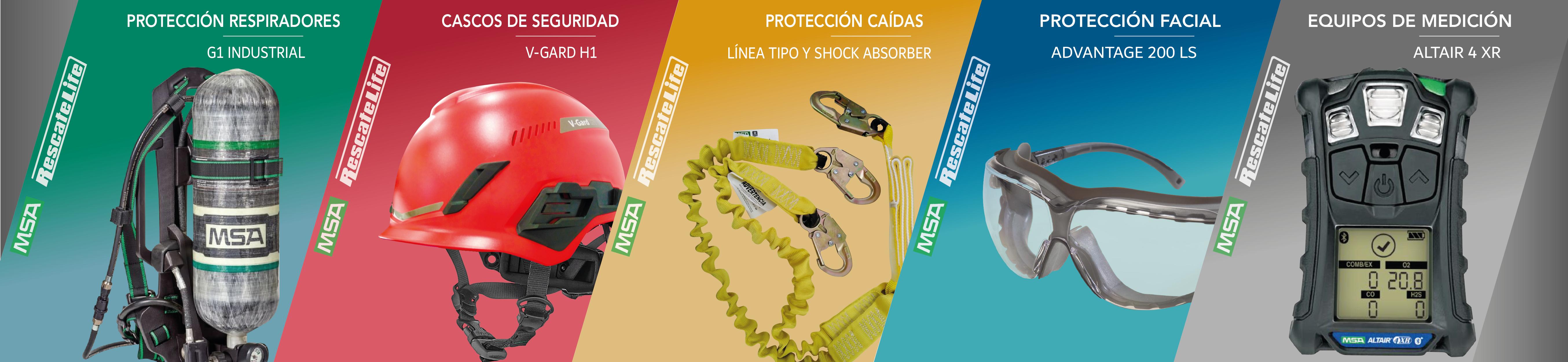 MSA Implementos de Seguridad y Proteccion Personal